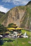 Bhutan Trashigang, Arkivbild