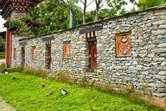 Bhutan wall Royalty Free Stock Images