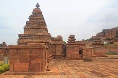 Bhutanatha group of temples, Badami Royalty Free Stock Images