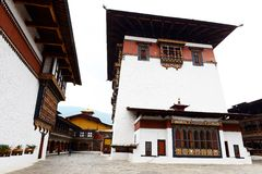 Bhutanese Architecture Stock Photo