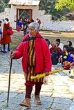 Bhutanese Man Stock Image