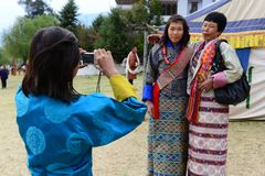 Bhutanese People Stock Photography