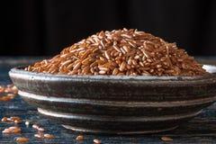 Bhutanese Red Rice Royalty Free Stock Photo