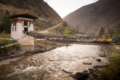 Bhutanese Stylowa panna młoda w Bhutan obraz stock