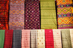 Bhutanese textile Royalty Free Stock Images