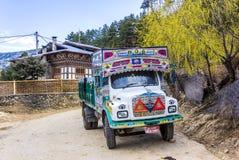 Bhutanese truck Stock Images