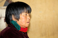 Bhutanese woman portrait, Thimphu, Bhutan Stock Photos