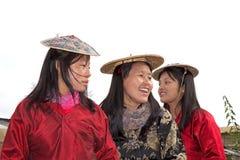 Bhutanese women portrait, Thimphu, Bhutan Stock Images