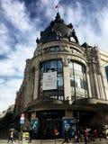 BHV-Kaufhauseingang Paris Frankreich Lizenzfreie Stockbilder
