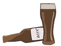 Bière Image libre de droits