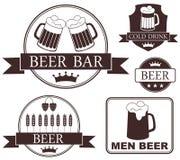 Bière illustration stock