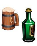 Bière allemande Photographie stock