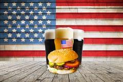 Bière américaine de métier photographie stock
