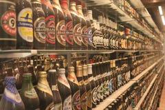 Bière autour du monde Image libre de droits