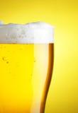 Bière avec la mousse images libres de droits