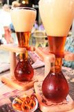 Bière belge Images stock