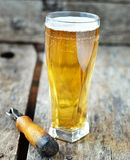 Bière blonde images stock