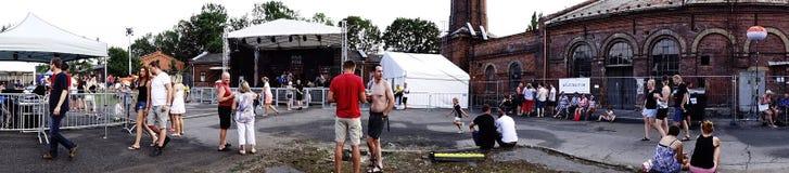 Bière chantant 2018 photos libres de droits