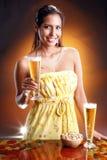 bière d'or Image stock