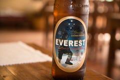 Bière d'Everest photo stock