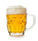 Bière d'isolement photographie stock