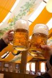 Bière d'Octoberfest Image libre de droits