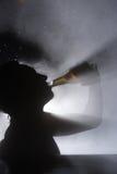 Bière dans la station thermale Image libre de droits