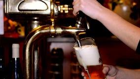 Bière dans le bar