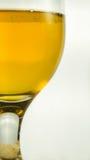 Bière dans le gobelet Photo stock