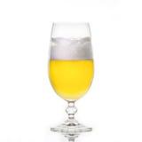 Bière dans une glace Photographie stock libre de droits