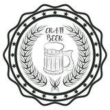 Bière de métier Photo libre de droits