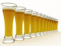 Bière en glace Photo stock