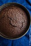 Bière foncée et gâteau de chocolat Images stock