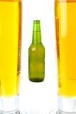Bière froide Photos libres de droits
