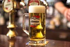 Bière italienne blonde photo libre de droits