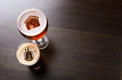 Bière locale de métier Photo stock