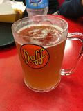Bière moche fraîche dedans Images stock