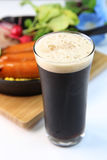 Bière noire Images libres de droits