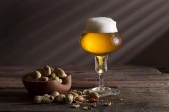 Bière pâle images stock