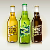 Bière réglée pour le jour de St Patrick Photo stock
