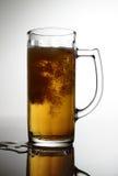 Bière renversée Image libre de droits