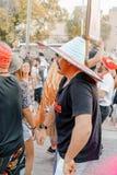 BIÈRE SHEVA, ISRAËL - 1ER MARS 2018 : Mascarade de rue de Purim sur la rue en bière-Sheva Jour heureux de purim en Israël Photos stock
