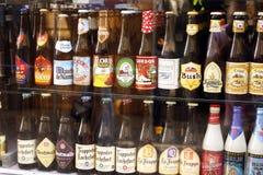 Bières de la Belgique Images stock