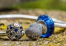 Biżuteria, żeńska bransoletka Zdjęcie Royalty Free