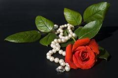 biżuteria 01 miłości Fotografia Royalty Free