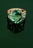biżuteria elegancki pierścionek Fotografia Royalty Free