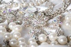 Biżuteria na tle zdjęcie stock
