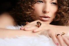 biżuteria piękności Obrazy Royalty Free