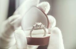 Biżuteria pierścionek Obraz Royalty Free