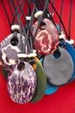 Biżuteria - Tagua dokrętki breloczki Obrazy Stock
